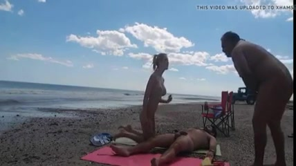 Your place Nudist beach cum shot